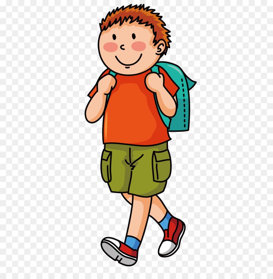 Cartoon School Supplies png download.