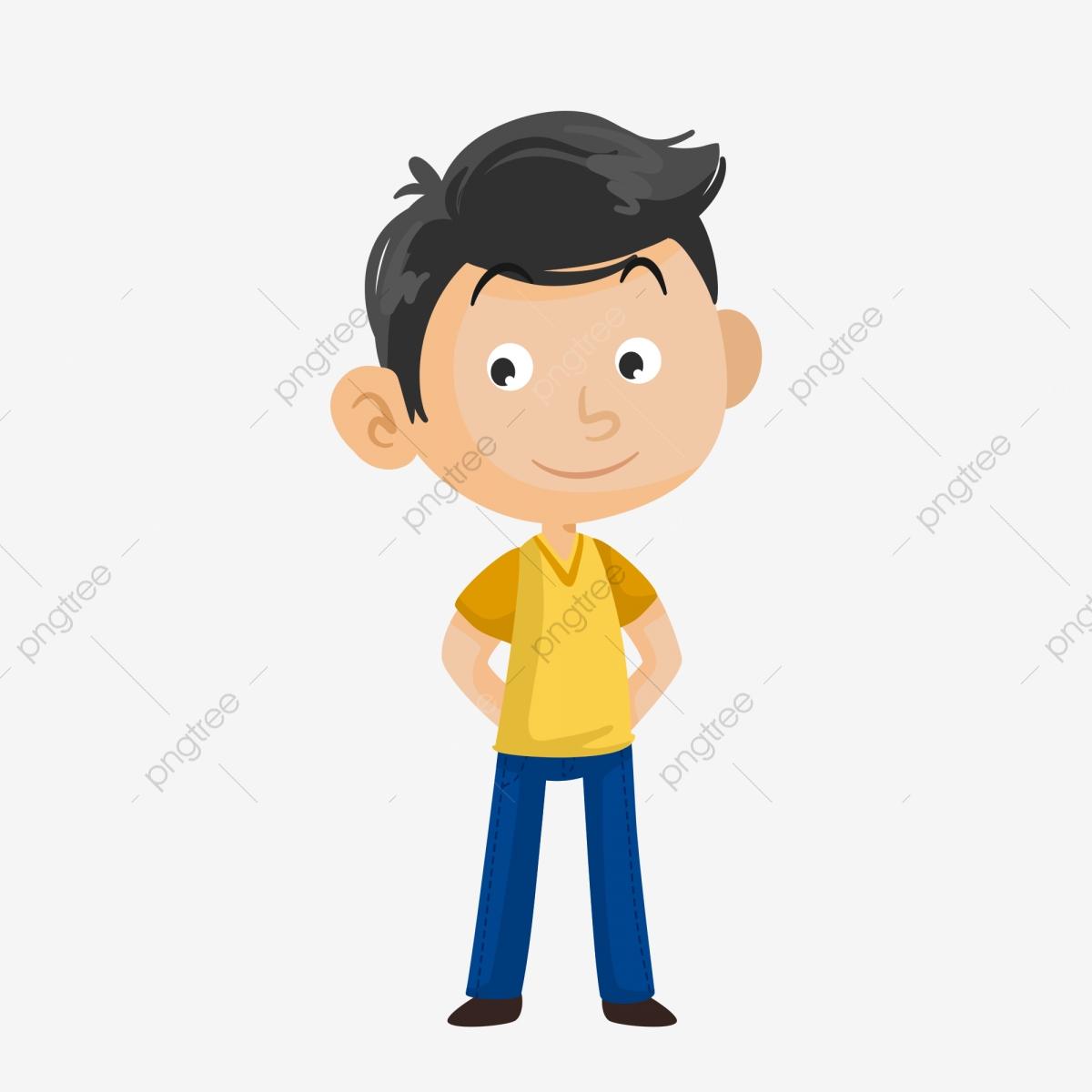 Charismatic Guy Cute Boy Q Version Boy Cute Little Boy, Cute Q.