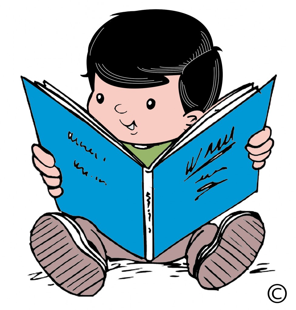 Children Reading Clip Art & Children Reading Clip Art Clip Art.