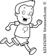 Boy running Clip Art Illustrations. 4,273 boy running clipart EPS.