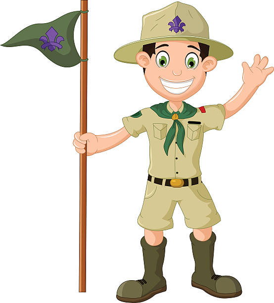 Best Boy Scout Uniform Illustrations, Royalty.