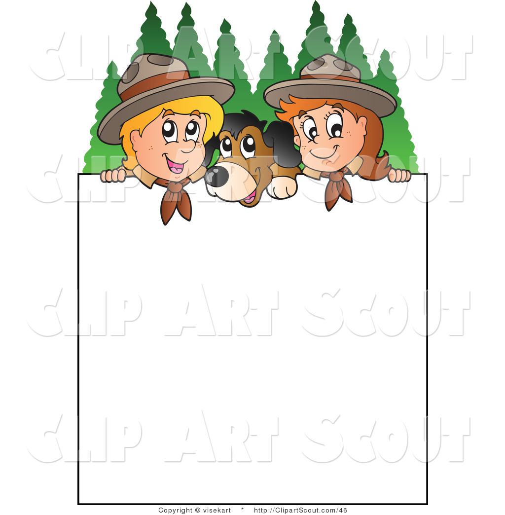 Daisy Scout Clipart.