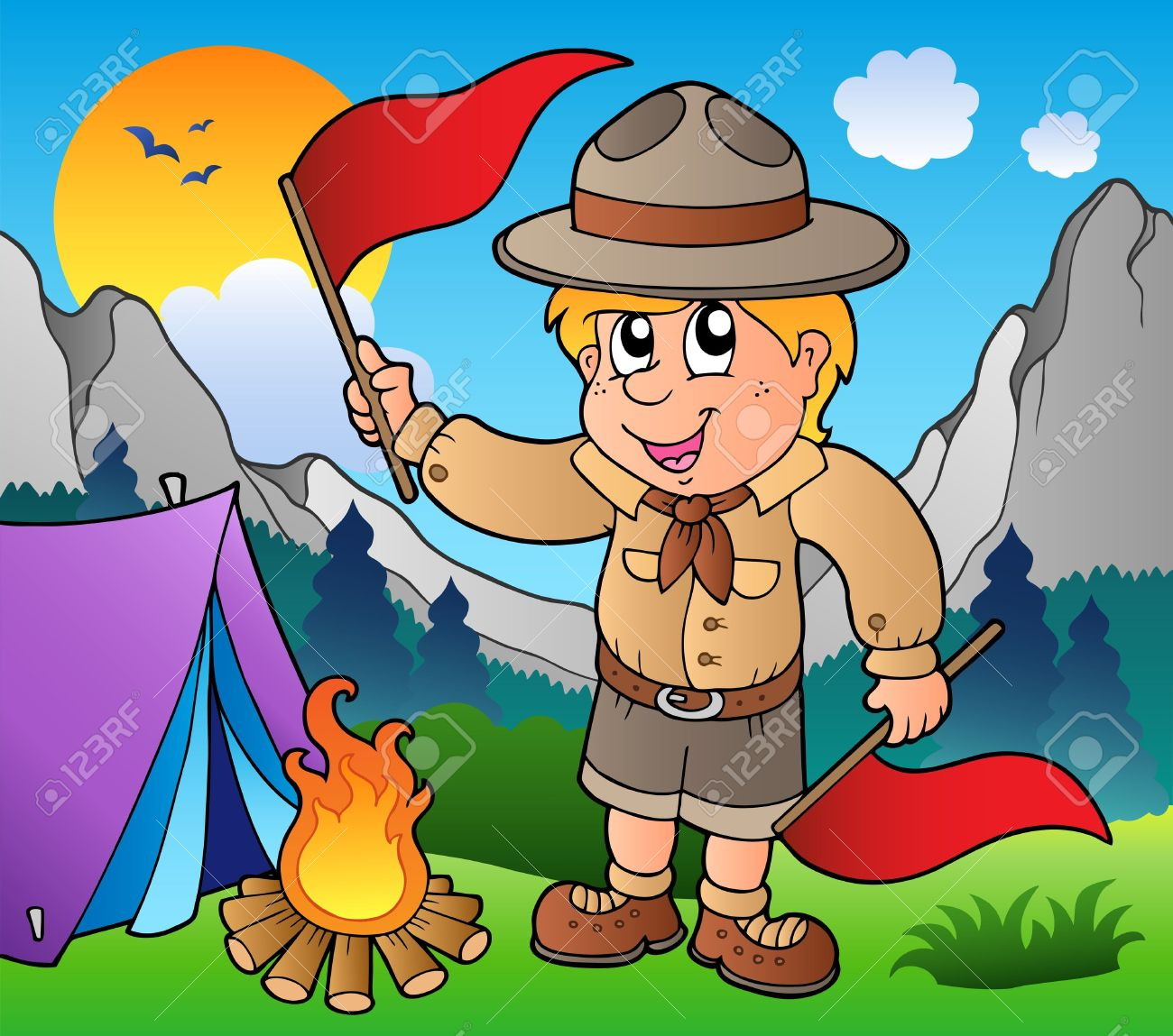 Free Boys Camping Cliparts, Download Free Clip Art, Free Clip Art on.