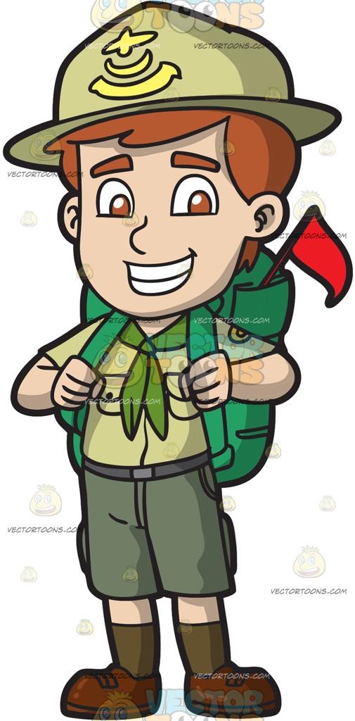 252 Boy Scout free clipart.