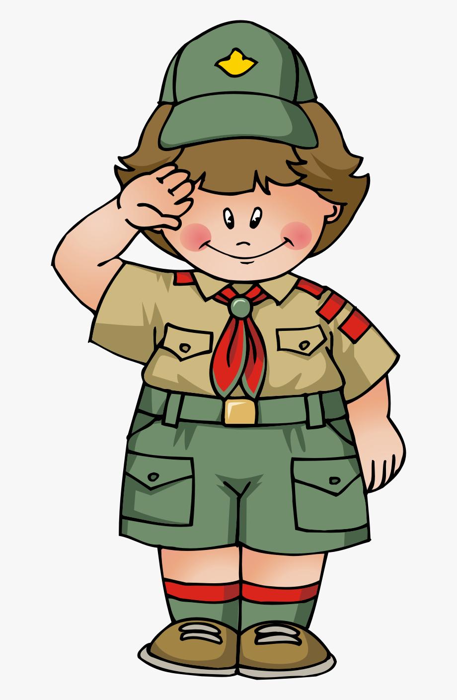 Boy Scouts Clipart.