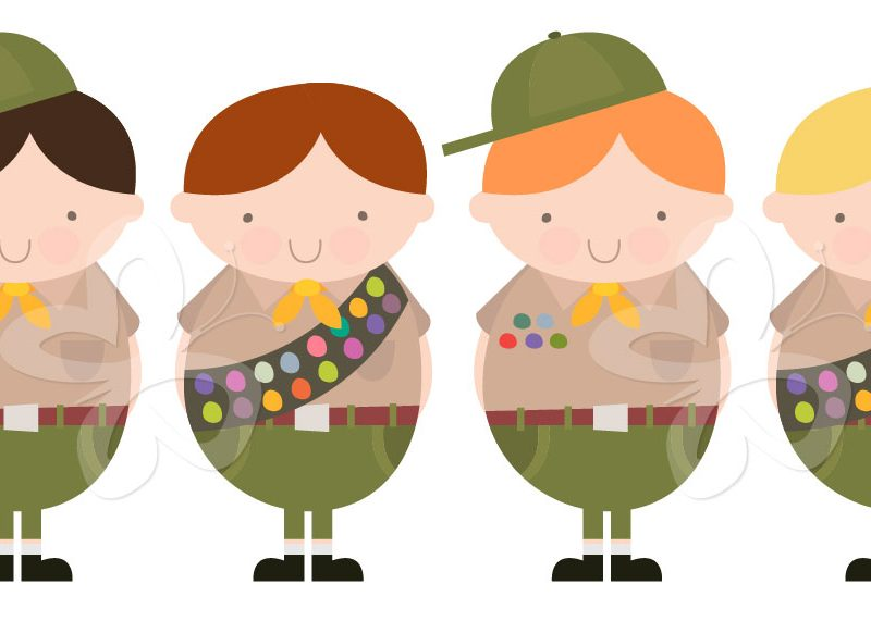 Boy Scouts Clipart Free.