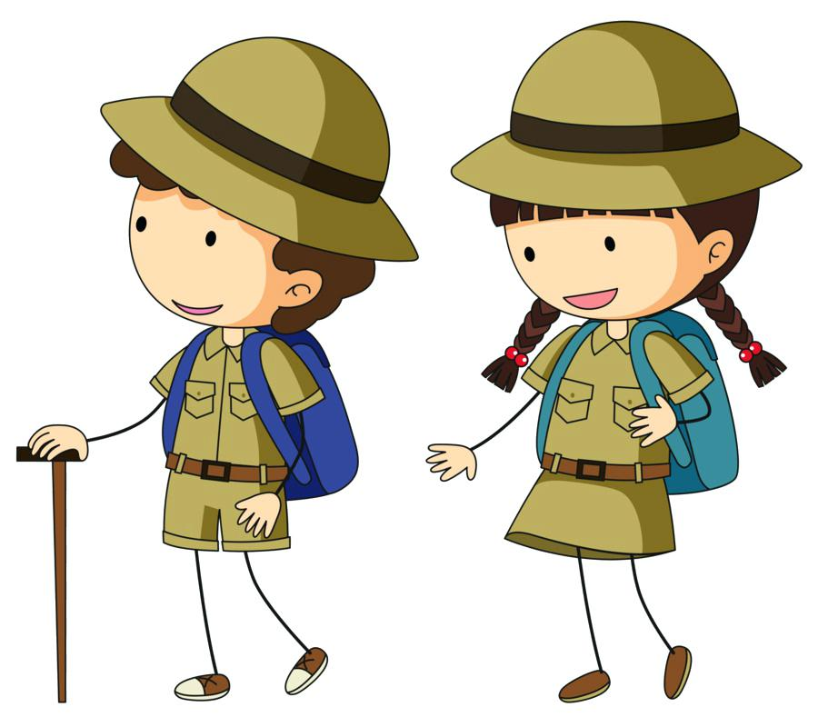 Boy Scouting Clip Art Kid Scout Scouts Of America Emblem Simon Wood.