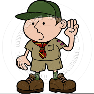 Boy Scout Animated Clipart.