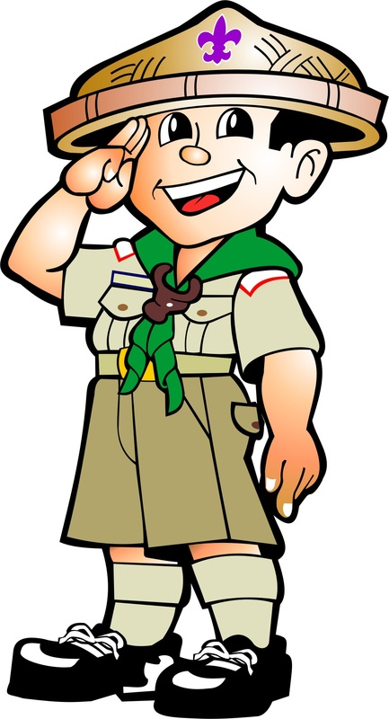 Collection of Scouting clipart.