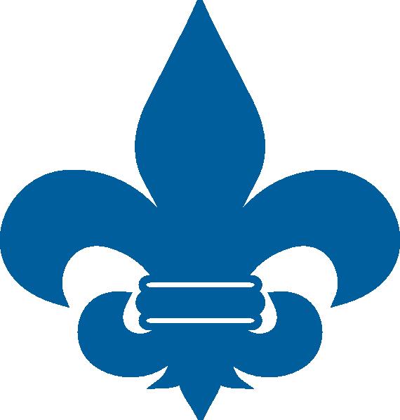 Cub Scout Blue Fleur De Lis Clip Art at Clker.com.