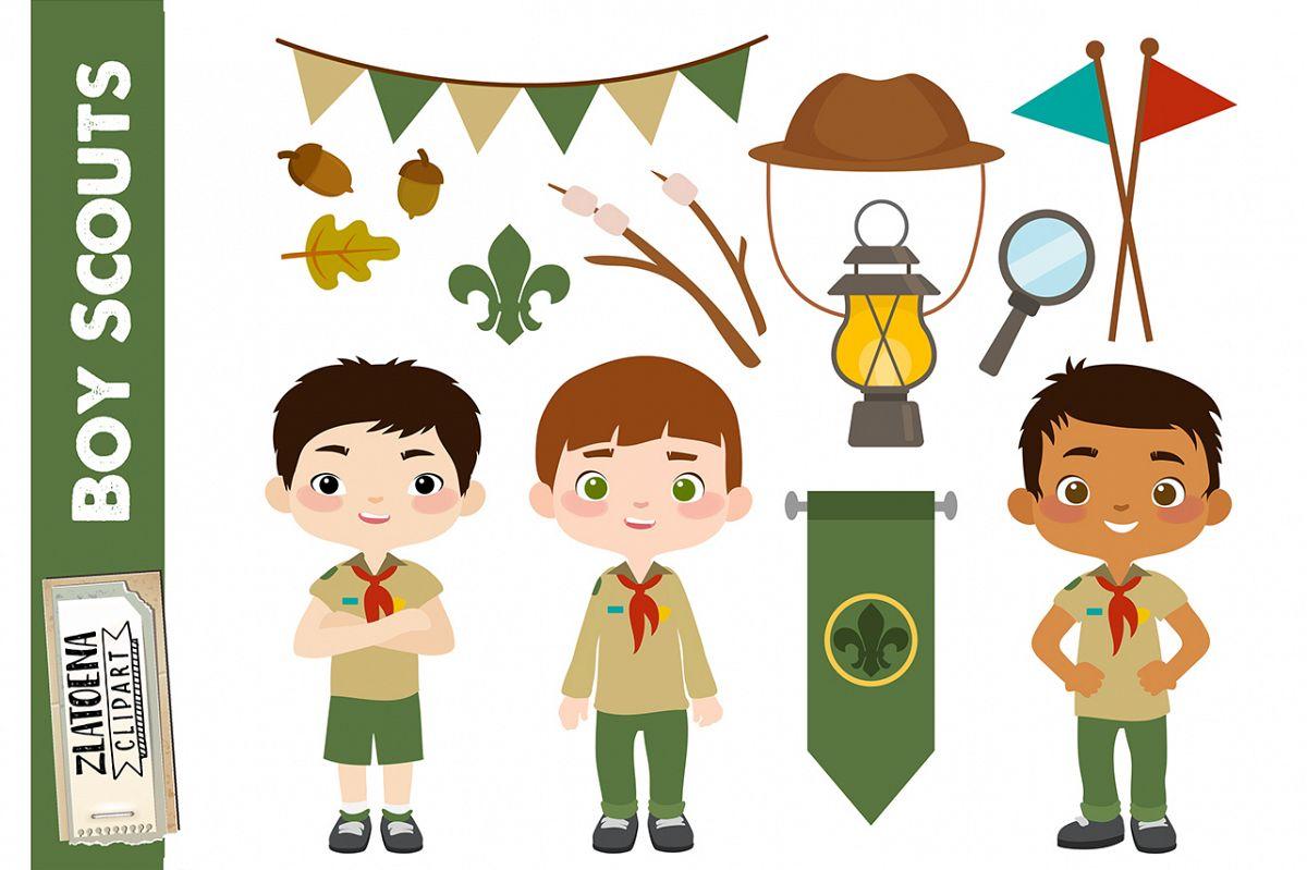 Boy Scout Clipart Scout Boy Clip art Boys Scouts Printable.