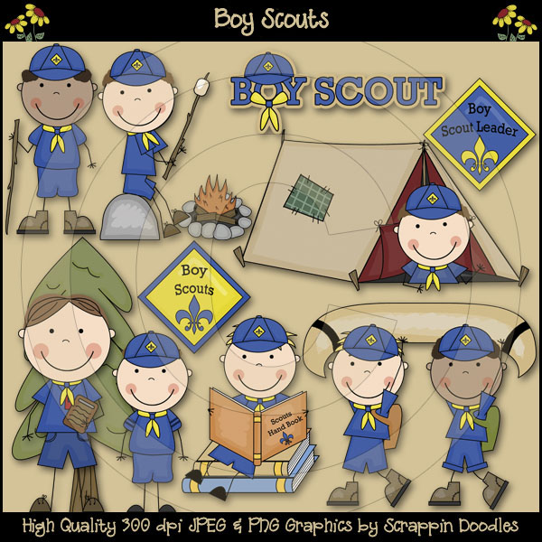 Boy Scout Committee Clipart.