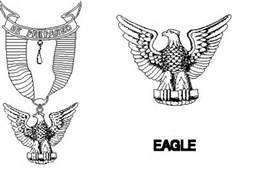 free clip art eagle scouts.