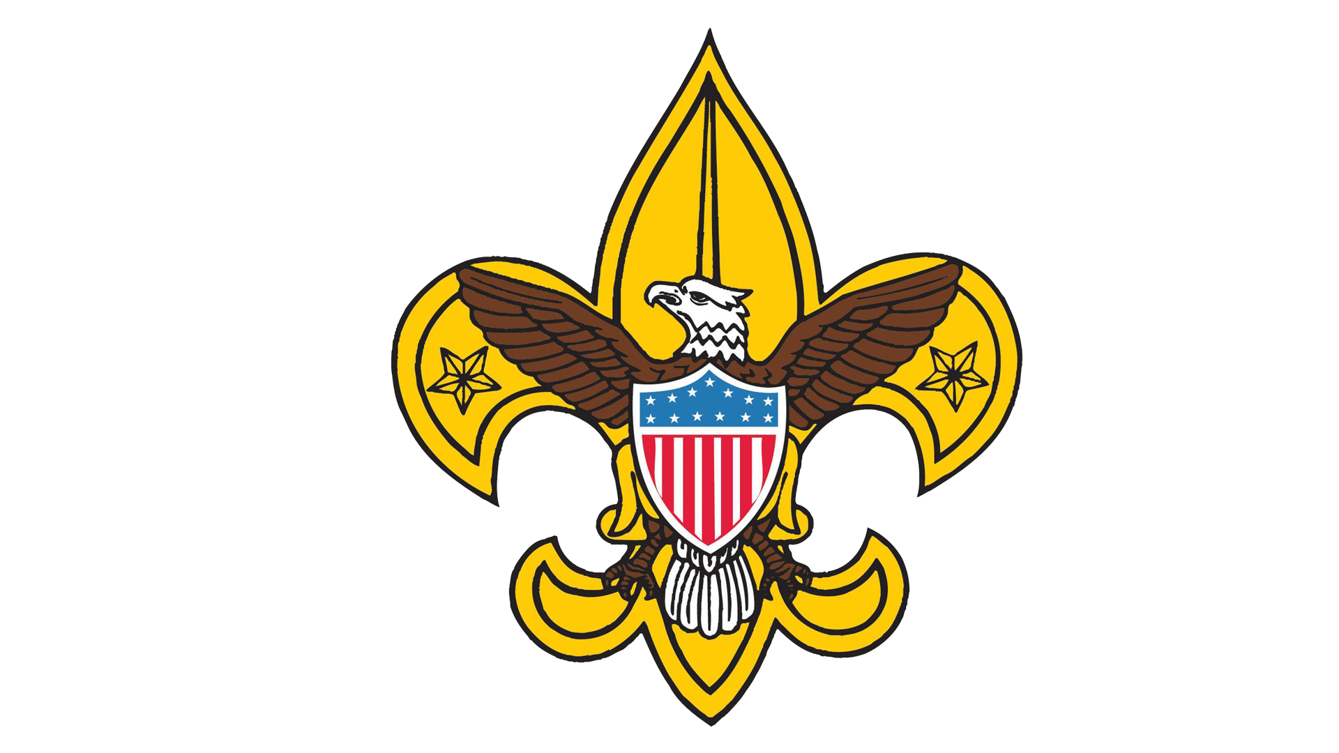 Meaning Boy Scout logo and symbol.
