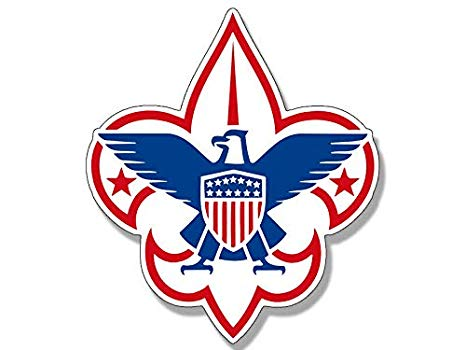 Amazon.com: MAGNET 4x4 inch Boy Scouts Logo Shaped Sticker.