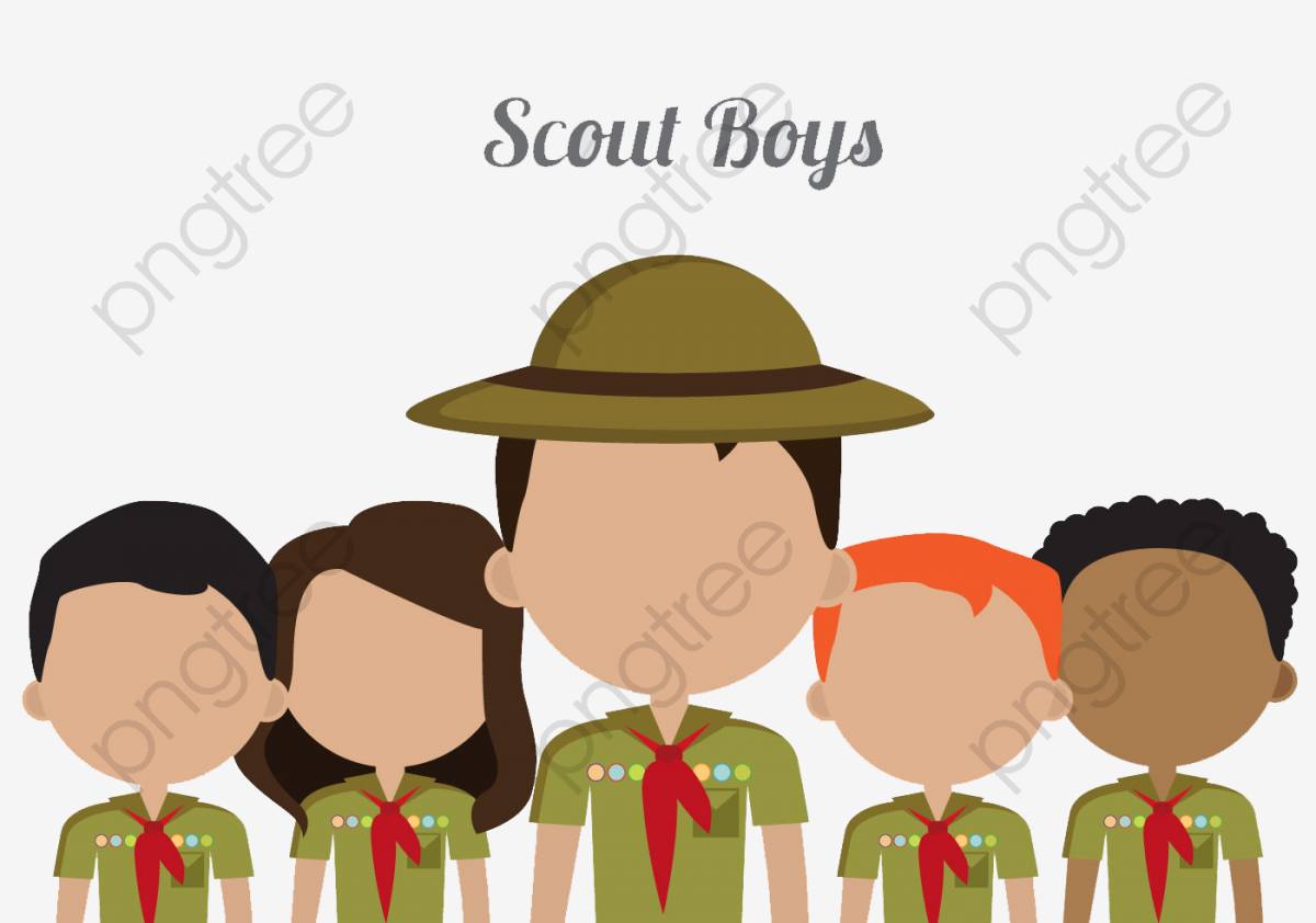 Little Fresh Boy Scout Icon, Color, Icon, Collection PNG Transparent.