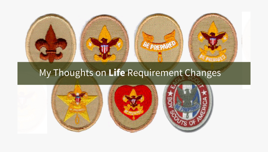 New Life Rank Requirements.