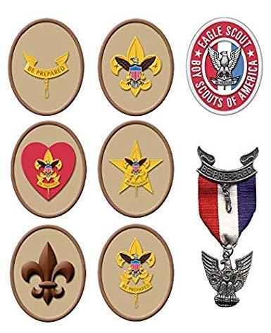 Eagle Scout edible sheet, Boy scout party decorations,Eagle.
