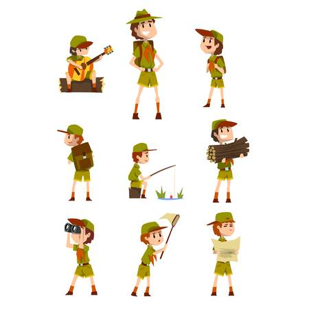 3,230 Boy Scout Cliparts, Stock Vector And Royalty Free Boy Scout.