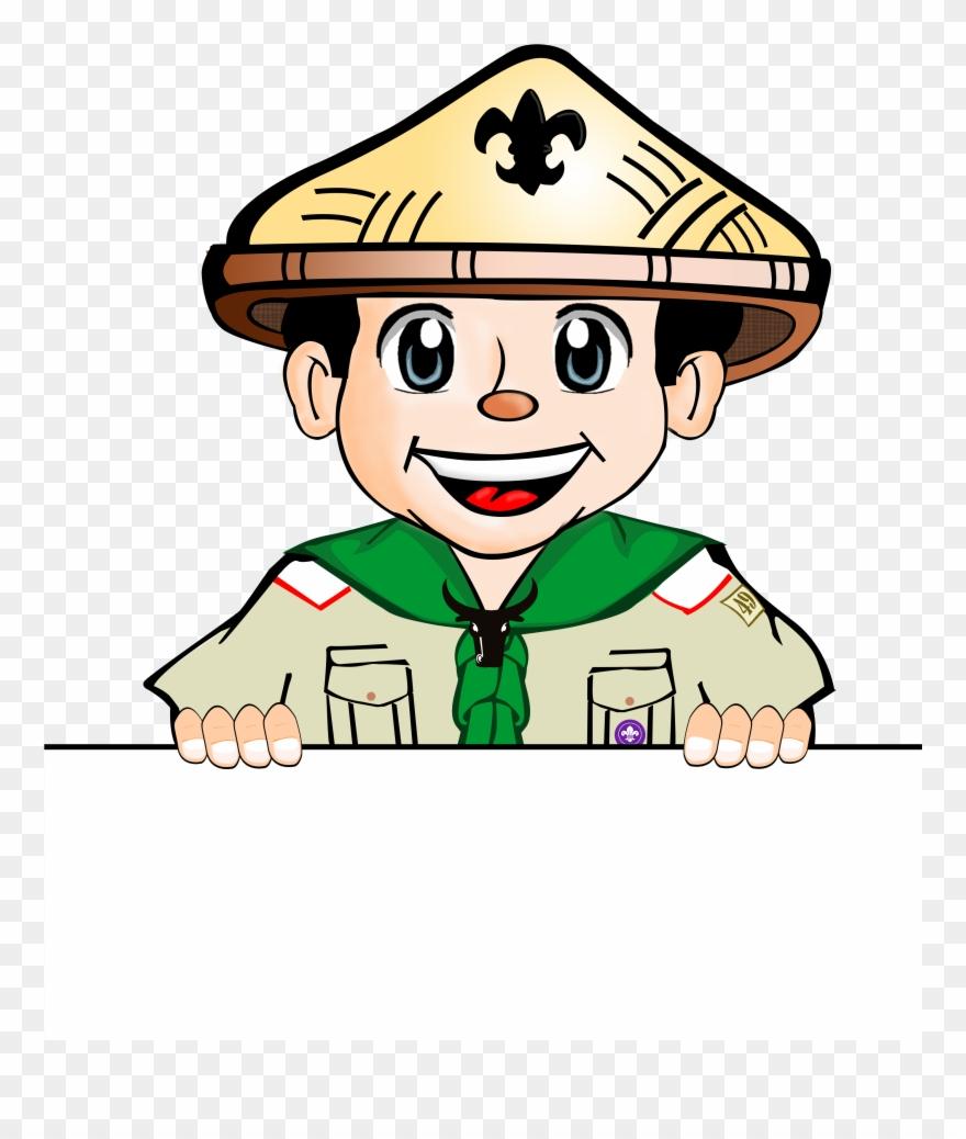 Clip Art Boy Scout.