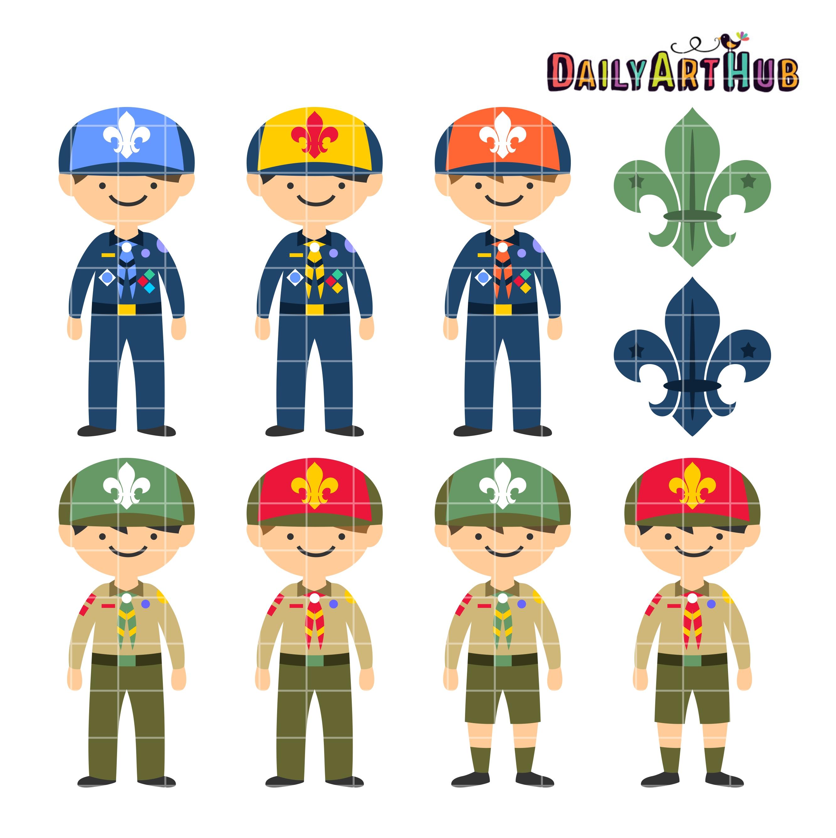 Boy Scouts Clip Art.