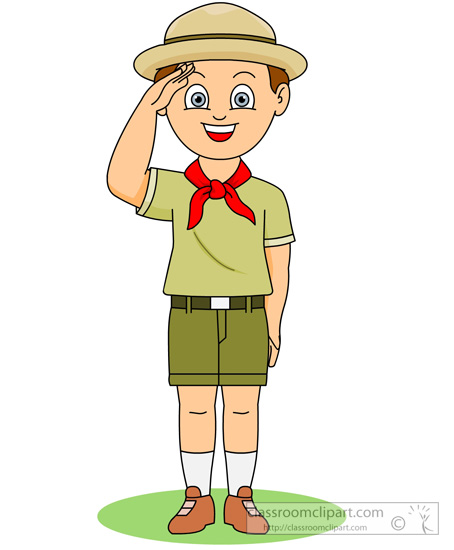 Clipart boy scouts free.