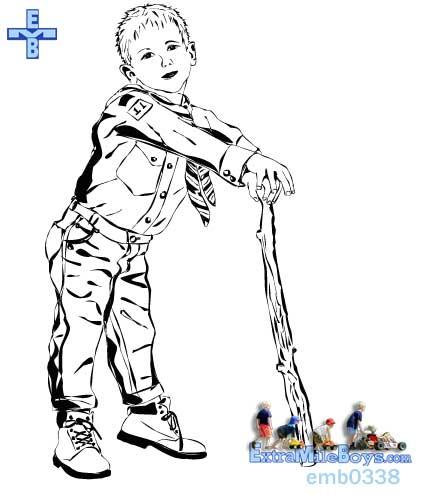 Boy scouts clip art clipartfest.
