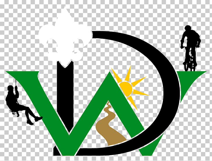 Boy Scouts of America Scouting Del Webb Boulevard Camping Logo.