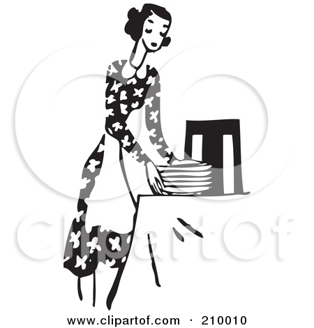 boy setting the table clipart - Clipground