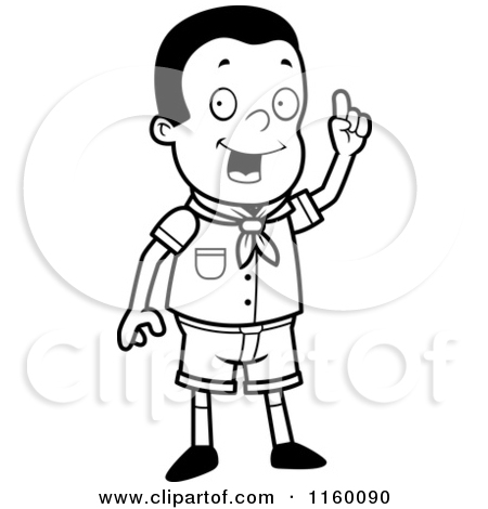 School Clothes Clipart Black And White.