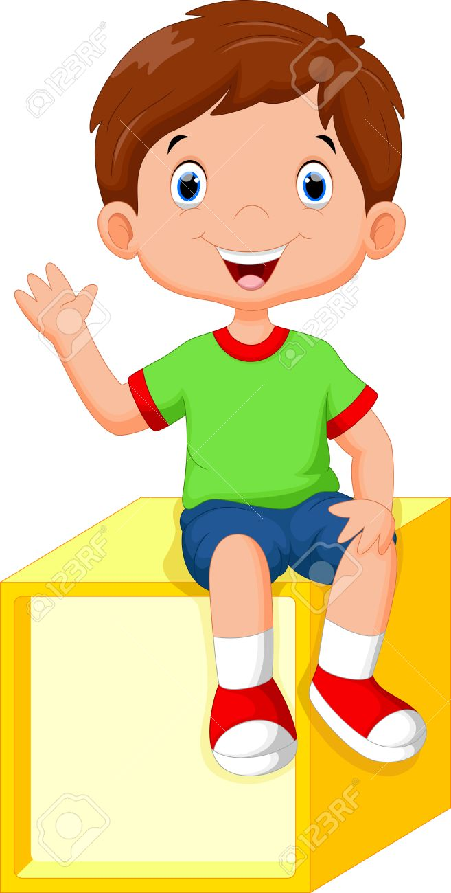 Boy sitting clipart 6 » Clipart Station.