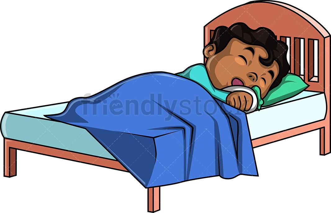 Black Boy Sleeping.