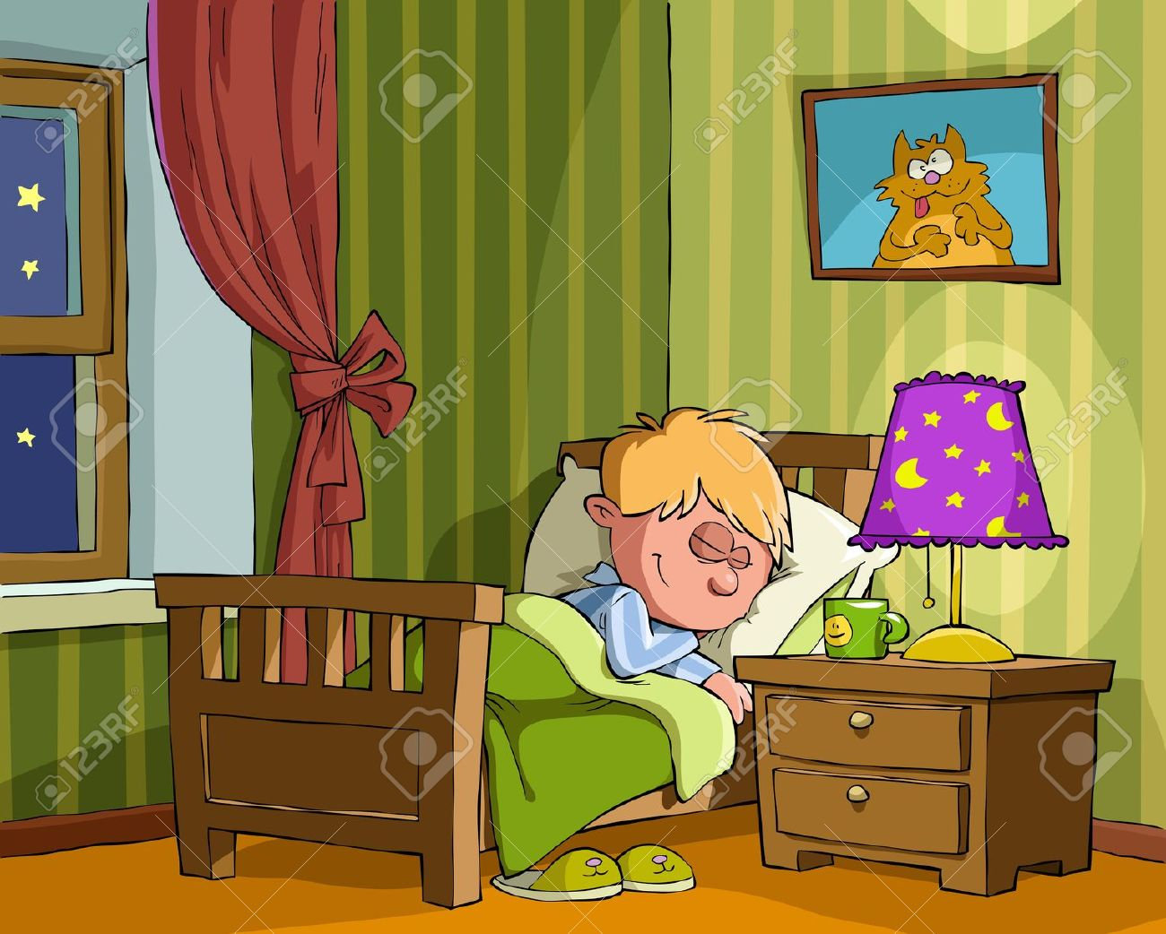 Showing post & media for Boy bed cartoon.