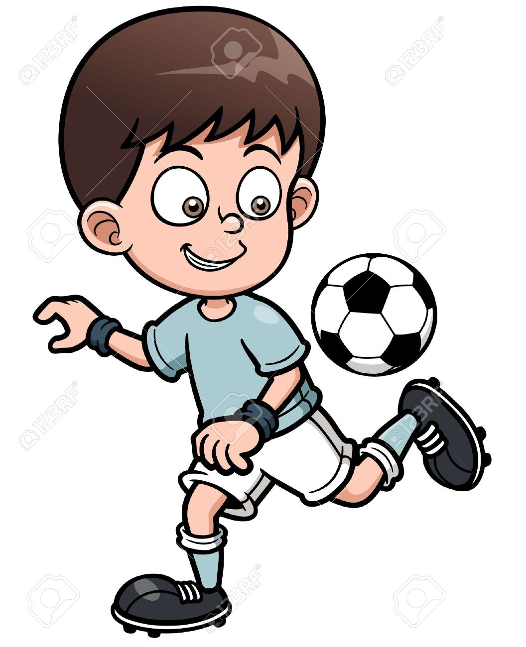 Boy soccer player clipart 4 » Clipart Station.