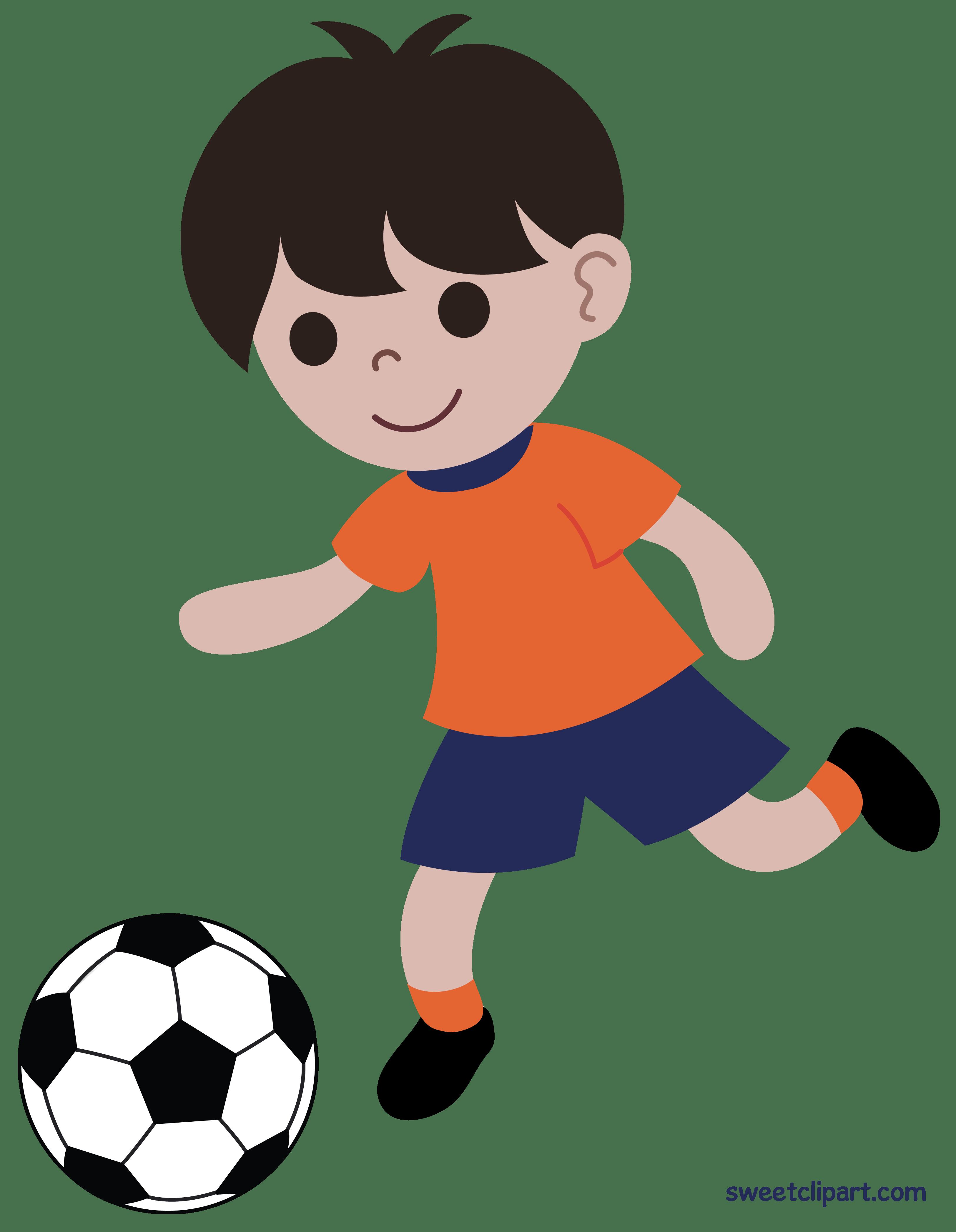 Boy soccer player clipart 2 » Clipart Portal.