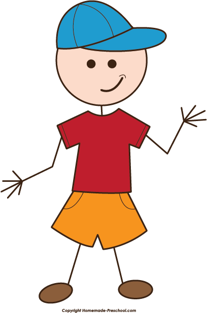Stick figure Boy Clip art.