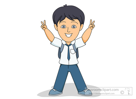 Boy student clipart kid.