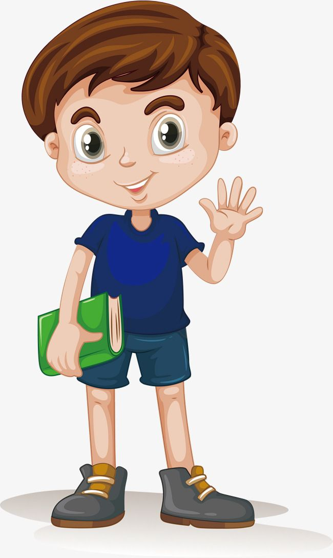 Vector To Take The Book Boy, Book Vector, Boy Vector, Character PNG.