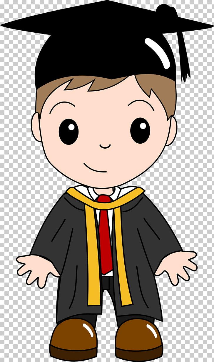 Graduation ceremony Child Cartoon , Graduated, boy in.