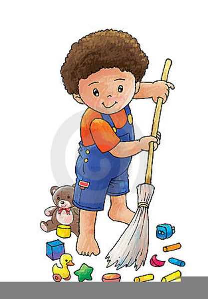 Child Sweep Clipart.