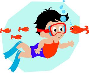 Swimming Clip Art Free Kids.