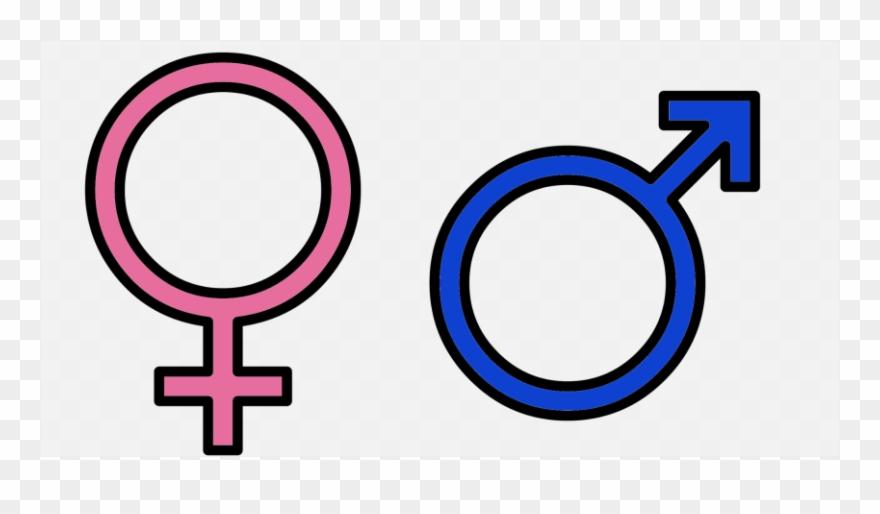 Boy Vs Girl Symbol Clipart (#4961164).
