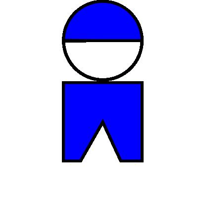 Free Clipart of Boy Symbol 01 01.