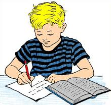Boy taking test clipart Transparent pictures on F.