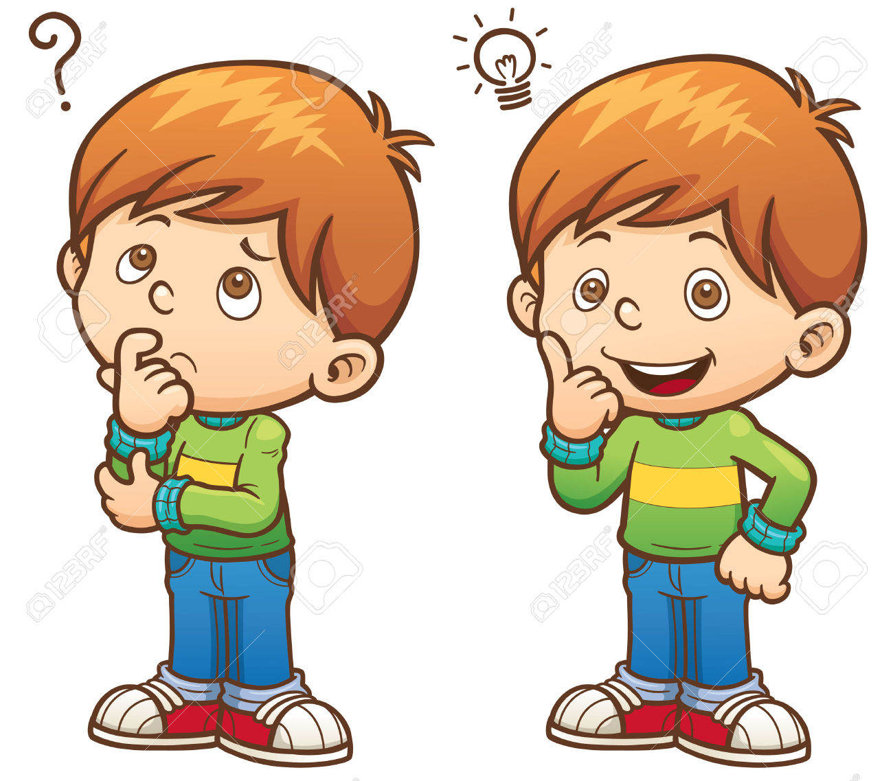 Boy thinking clipart 10 » Clipart Station.