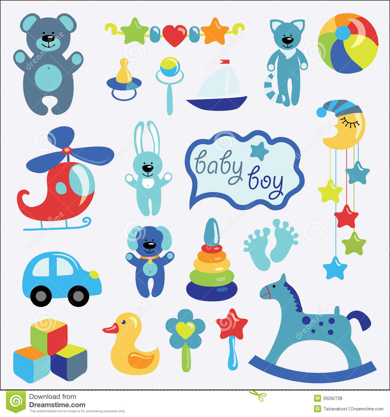 Baby boy toys clipart 1 » Clipart Station.