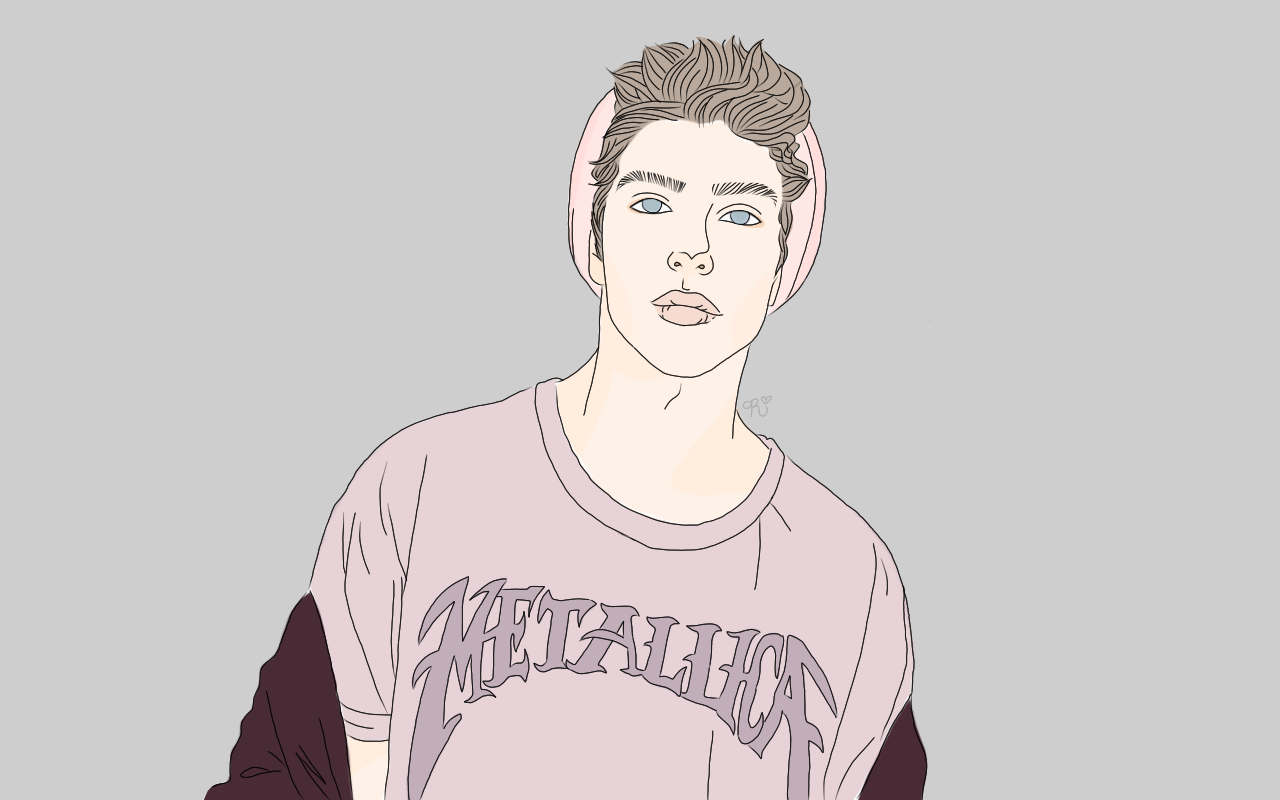 draw cute hipster boys.
