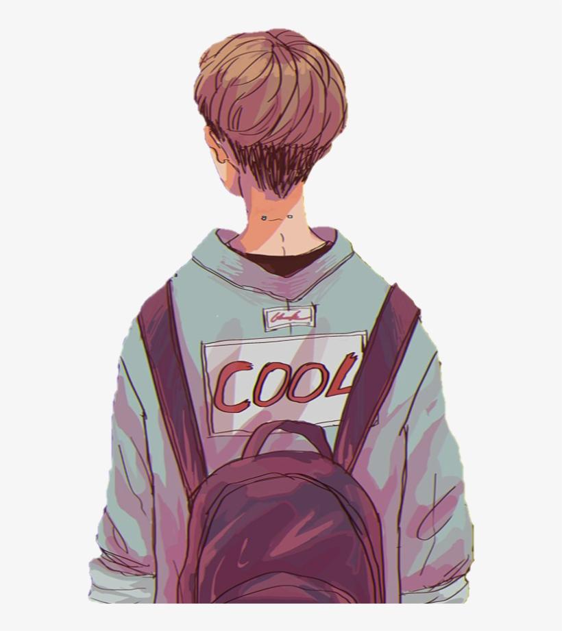 Anime Boy Animeboy Grunge Icon Overlay Sticker Tumblr.