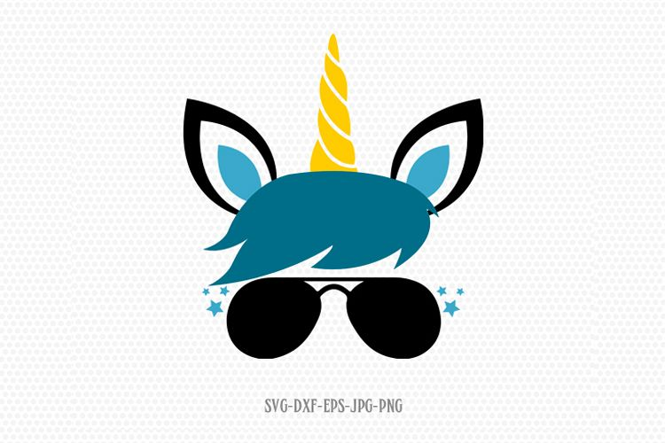 unicorn svg, unicorn eyelashes, boy unicorn svg.