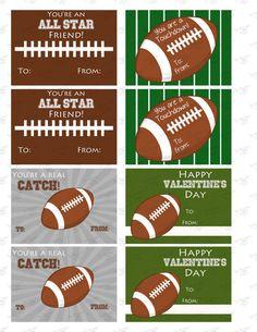 Sports Valentines.